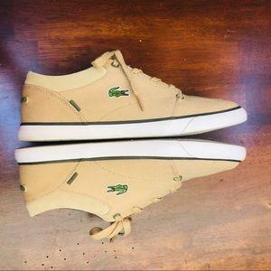 Men's Lacoste Canvas Sneakers